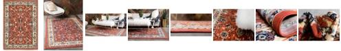 Bridgeport Home Arnav Arn1 Terracotta 4' x 6' Area Rug