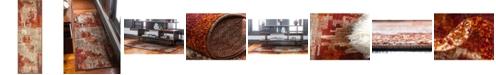 Bridgeport Home Jasia Jas06 Multi 2' x 6' Runner Area Rug