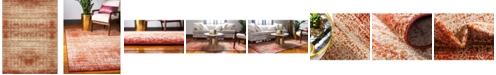Bridgeport Home Jasia Jas08 Terracotta 9' x 12' Area Rug
