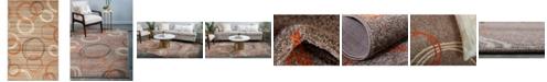 Bridgeport Home Jasia Jas05 Light Brown 5' x 8' Area Rug