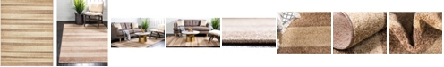 Bridgeport Home Jasia Jas12 Beige 8' x 10' Area Rug