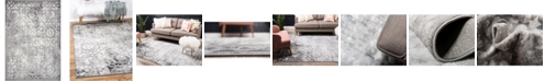 Bridgeport Home Basha Bas5 Dark Gray 6' x 9' Area Rug
