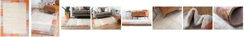 Bridgeport Home Haven Hav4 Orange 8' x 10' Area Rug