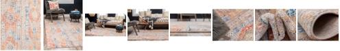 Bridgeport Home Nira Nir1 Orange 8' x 10' Area Rug