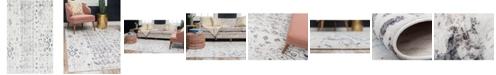 Bridgeport Home Nira Nir2 Ivory/Gray 5' x 8' Area Rug