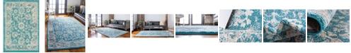 "Bridgeport Home Lorem Lor3 Turquoise 2' 2"" x 3' Area Rug"