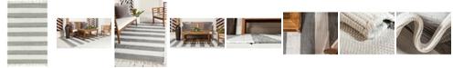 Bridgeport Home Jari Jar5 Gray 4' x 6' Area Rug