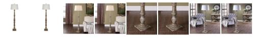 """Crestview Collection 63.25"""" Floor Lamp"""