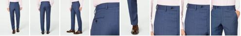 Lauren Ralph Lauren Men's Classic-Fit UltraFlex Stretch Blue Birdseye Suit Separate Pants