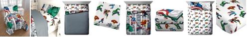 Disney Marvel Comic Twin 6-Pc. Comforter Set