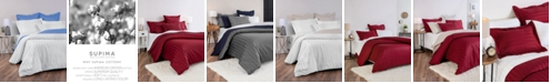 Charter Club Stripe 100% Supima Cotton 550 Thread Count Bedding Collection, Created for Macy's