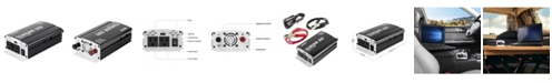 Wagan Tech Wagan Slimline 500 Watts DC to AC Power Inverter