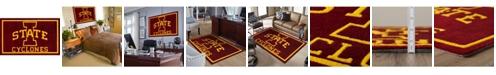 "Luxury Sports Rugs Iowa Colis Red 5' x 7'6"" Area Rug"