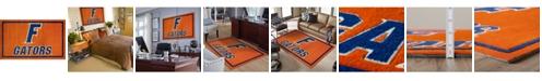"""Luxury Sports Rugs Florida Colfl Orange 1'8"""" x 2'6"""" Area Rug"""