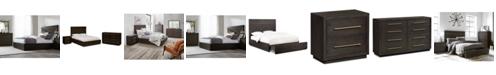 Furniture Cambridge Storage Platform Bedroom Furniture, 3-Pc. Set (Queen Bed, Dresser & Nightstand), Created for Macy's