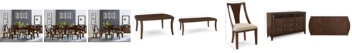 Furniture Portland Expandable Dining Furniture Collection, Created for Macy's