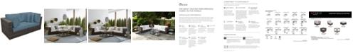 Furniture Viewport Outdoor 2-Pc. Modular Seating Set (2 Corner Units) with Custom Sunbrella® Cushions, Created for Macy's