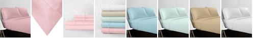 Ella Jayne 100% Cotton Percale 300 Thread Count 4-Piece Sheet Set - Twin