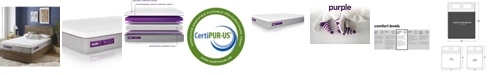 "Purple .3 Hybrid Premier 12"" Mattress - California King"