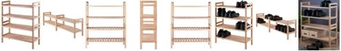 Winsome Mercury 2-Pc Stackable Shoe Rack Set