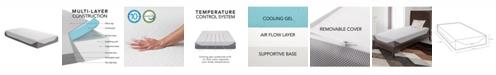 """CorLiving 10"""" Medium Firm Memory Foam Mattress, Twin"""