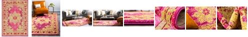 Bridgeport Home Sana San6 Pink 7' x 10' Area Rug