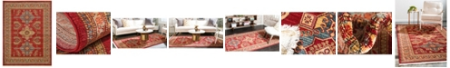 Bridgeport Home Harik Har5 Red 9' x 12' Area Rug