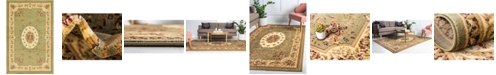 "Bridgeport Home Belvoir Blv4 Green 10' 6"" x 16' 5"" Area Rug"