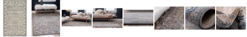 Bridgeport Home Bellmere Bel6 Gray 5' x 8' Area Rug