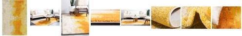 Bridgeport Home Newwolf New4 Yellow 7' x 10' Area Rug