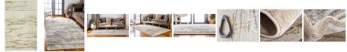 Bridgeport Home Aroa Aro9 Beige 2' x 3' Area Rug