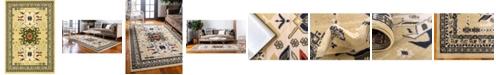Bridgeport Home Charvi Chr1 Ivory 6' x 9' Area Rug