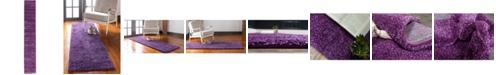 """Bridgeport Home Uno Uno1 Violet 2' 2"""" x 13' Runner Area Rug"""