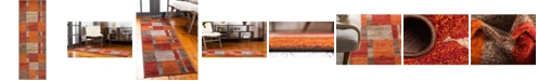 Bridgeport Home Jasia Jas14 Multi 2' x 6' Runner Area Rug