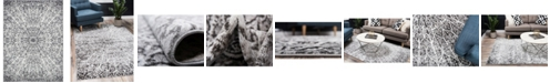 Bridgeport Home Basha Bas4 Dark Gray 8' x 11' Area Rug