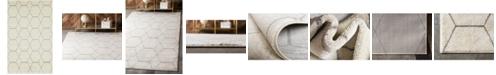 Bridgeport Home Plexity Plx1 Ivory 5' x 8' Area Rug