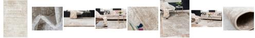 "Bridgeport Home Basha Bas7 Beige 3' 3"" x 5' 3"" Area Rug"