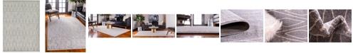 Bridgeport Home Fio Fio1 Gray 9' x 12' Area Rug