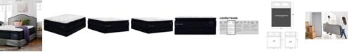 """Stearns & Foster Estate Cassatt 15"""" Luxury Firm Euro Pillow Top Mattress Set - California King"""