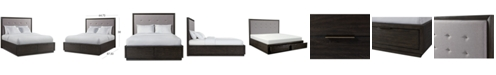 Furniture Morgan Storage Queen Bed, Created for Macy's