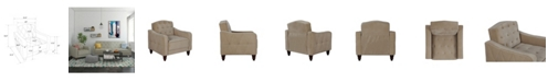 Novogratz Collection Novogratz Retro Tufted Armchair