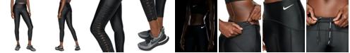 Nike Women's Speed Dri-FIT Mesh-Twist Running Leggings