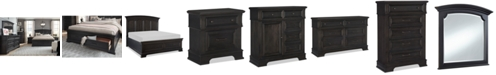 Furniture Townsend Storage Bedroom Collection