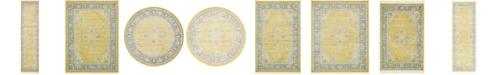 Bridgeport Home Kenna Ken1 Yellow Area Rug Collection