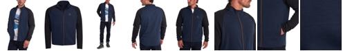 Barbour Men's Skiff Regular-Fit Colorblocked Full-Zip Sweatshirt