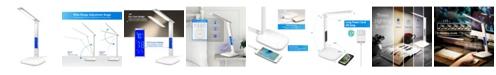 Innoka Adjustable LED Desk Lamp with Built in LCD Display 5Volt USB Charging Port