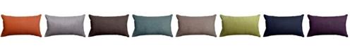 "Majestic Home Goods Villa Decorative Soft Throw Pillow Small 20"" x 12"""