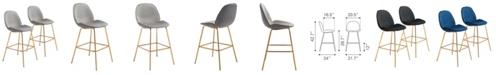 Zuo Siena Bar Chair, Set of 2