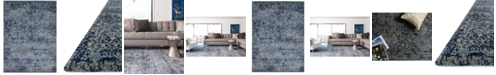 Macy's Fine Rug Gallery Fusion Light Blue/Grey Area Rug Collection