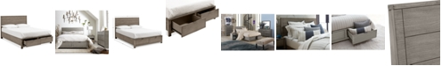 Furniture Tribeca Storage Queen Platform Bed, Created for Macy's